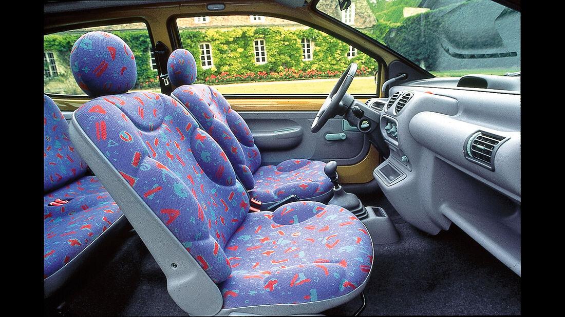 Polsterfarben, Renault Twingo