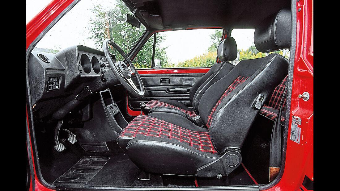 Polsterfarben, VW Golf GTI