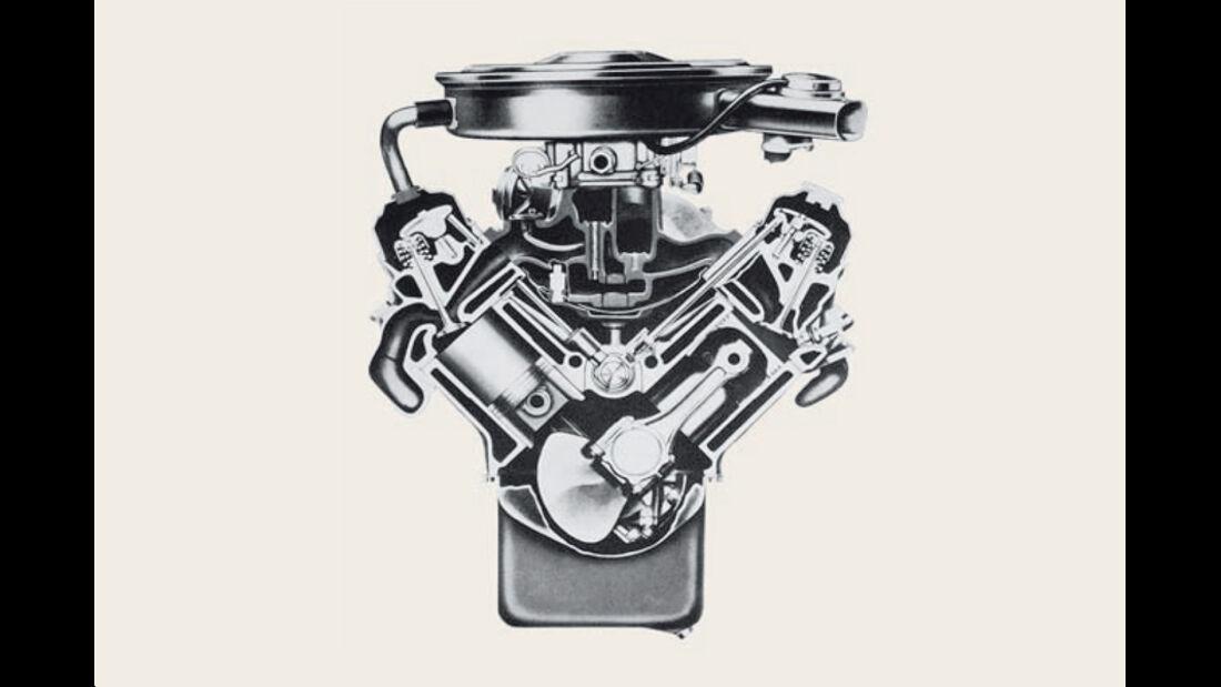 Pontiac 400er-V8 Motor