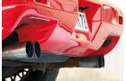 Pontiac Fiero GT, Auspuff, Endrohre