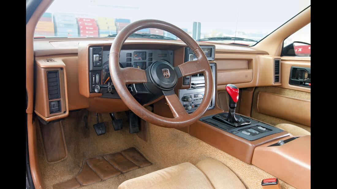 Pontiac Fiero GT, Cockpit