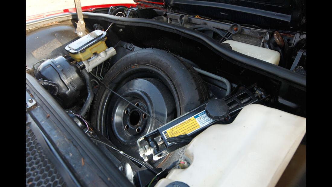 Pontiac Fiero GT, Ersatzrad