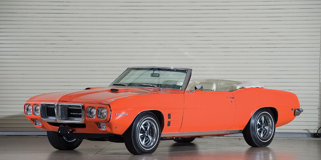 Pontiac Firebird 400 Convertible (Frontansicht)