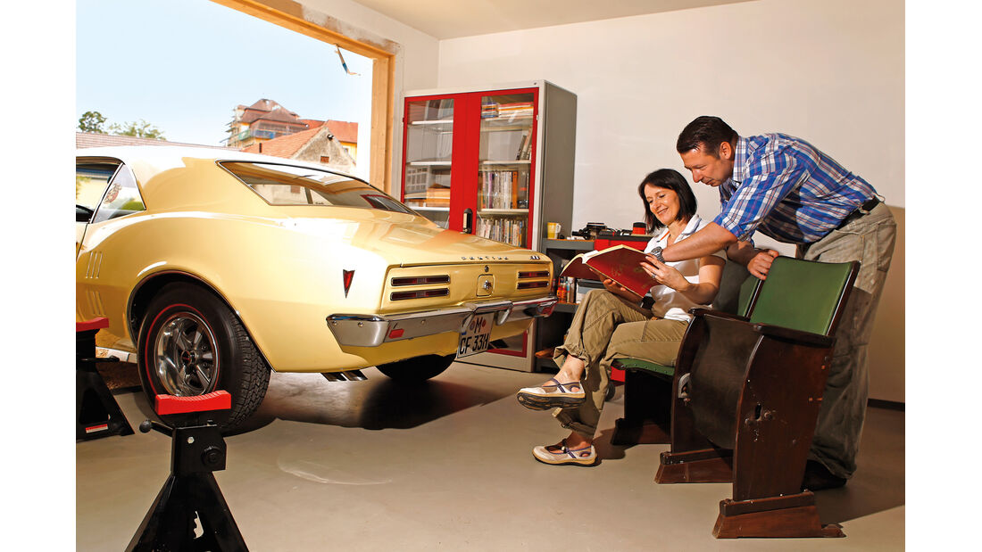 Pontiac Firebird 400 Coupe Serie 223, Heck, Tom Brandl