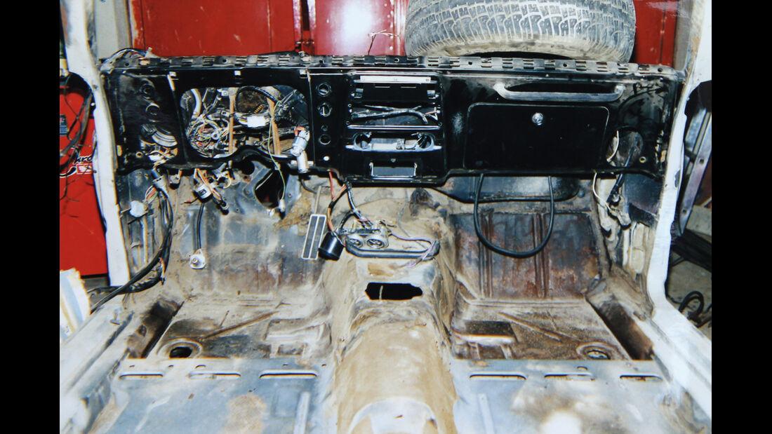 Pontiac Firebird 400 Coupe Serie 223, Kabelsalat