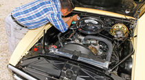 Pontiac Firebird 400 Coupe Serie 223, Motor, Motorraum