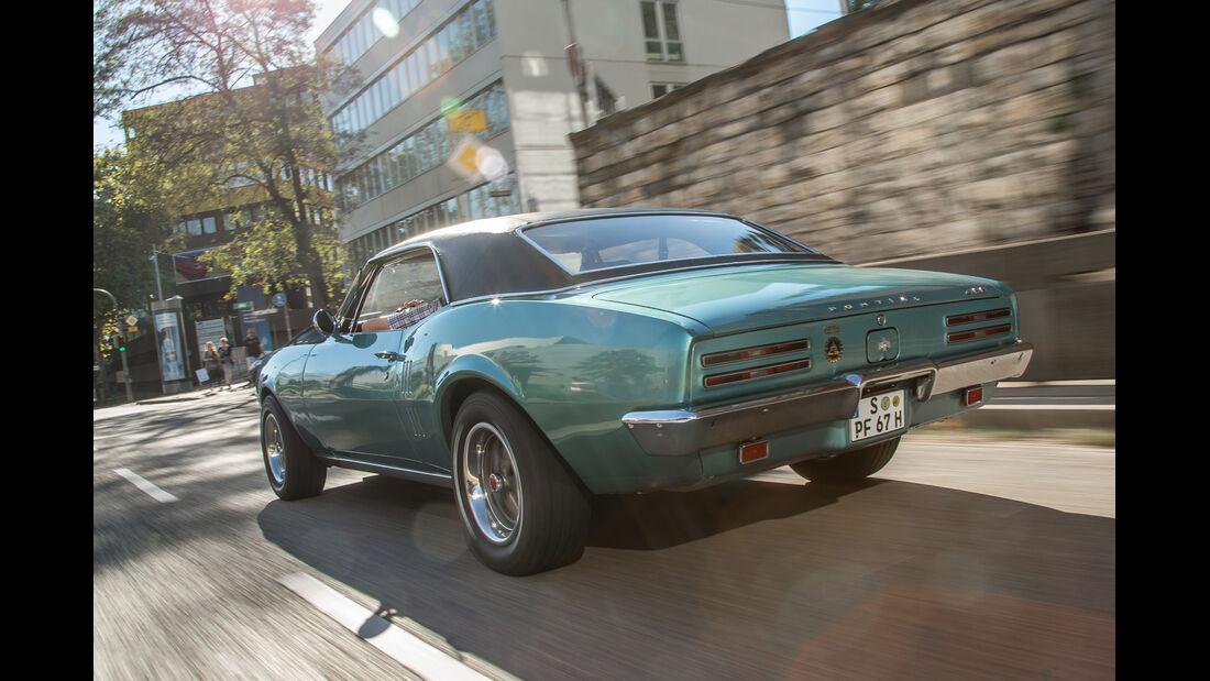 Pontiac Firebird 400, Heckansicht