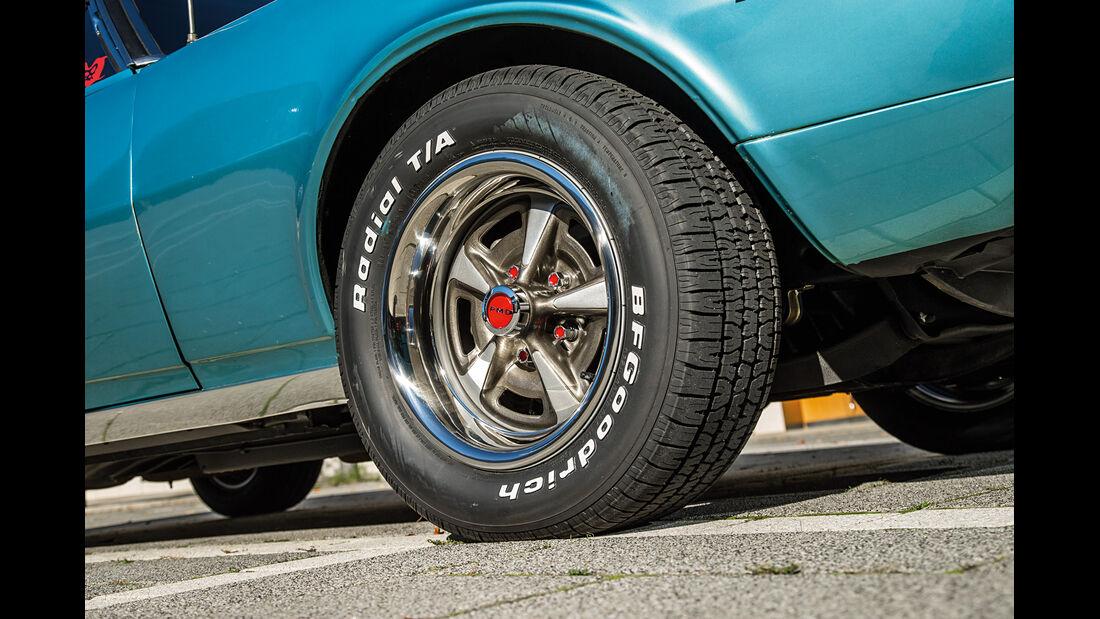 Pontiac Firebird 400, Rad, Felge