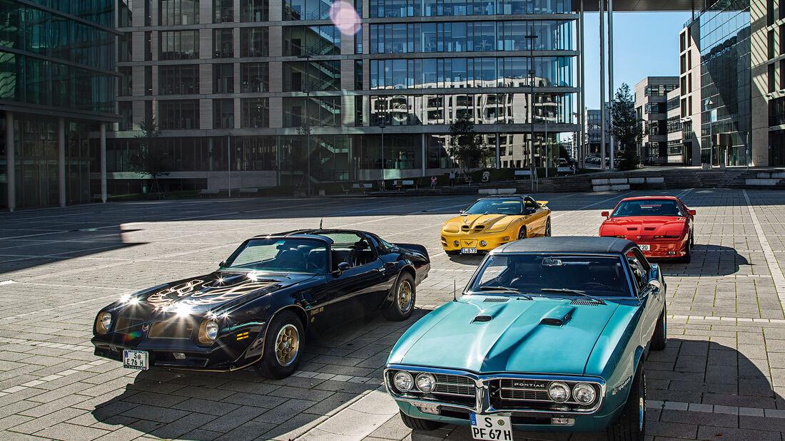 Pontiac Firebird Generationen