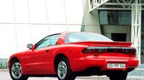 Pontiac Firebird, Heckansicht