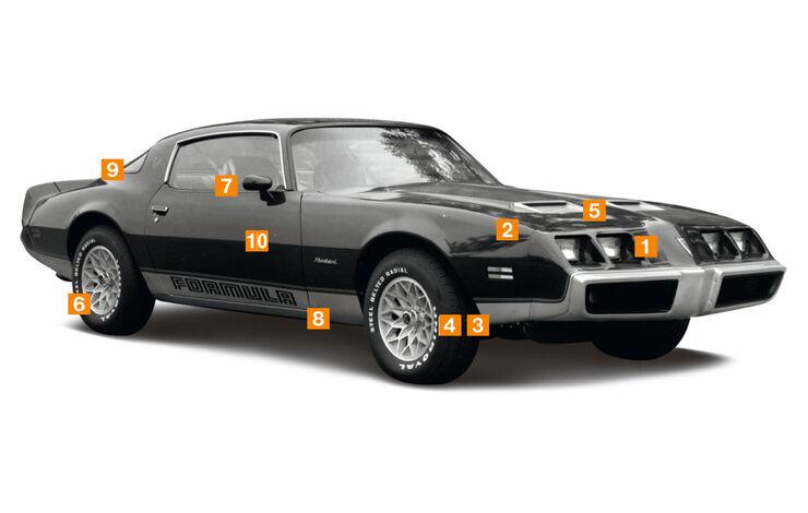 Pontiac Firebird, Schwachstellen, Igelbild