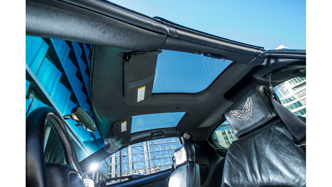 Pontiac Firebird Trans Am (2002), Dachfenster