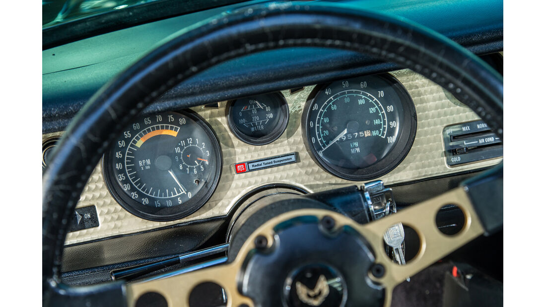 Pontiac Firebird Trans Am, Rundinstrumente