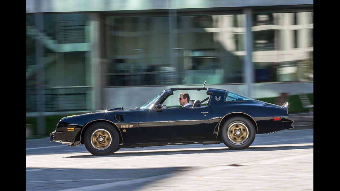 Pontiac Firebird Trans Am, Seitenansicht