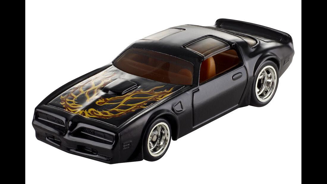 Pontiac Firebird, ausgekochtes Schlitzohr, Hot Wheel Filmautoklassiker 2013