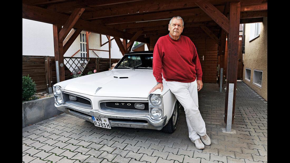 Pontiac GTO, Frontansicht, Franz-Peter Hudek