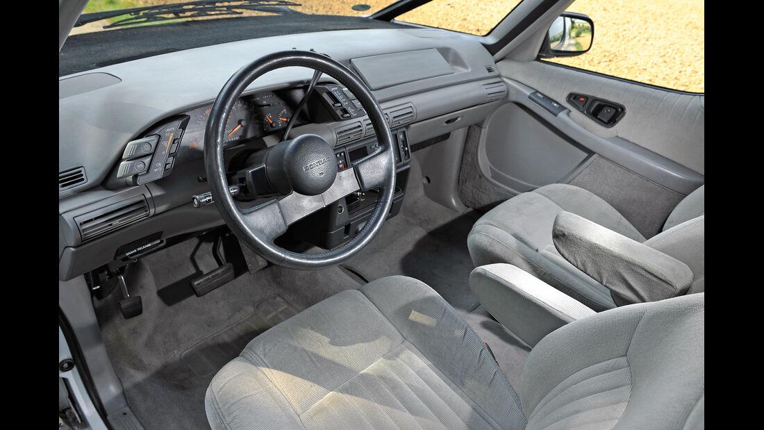Pontiac Trans Sport, Cockpit