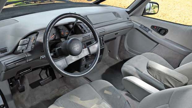 Pontiac Trans Sport GT, Interieur