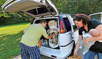 Pontiac Trans Sport, Kofferraum