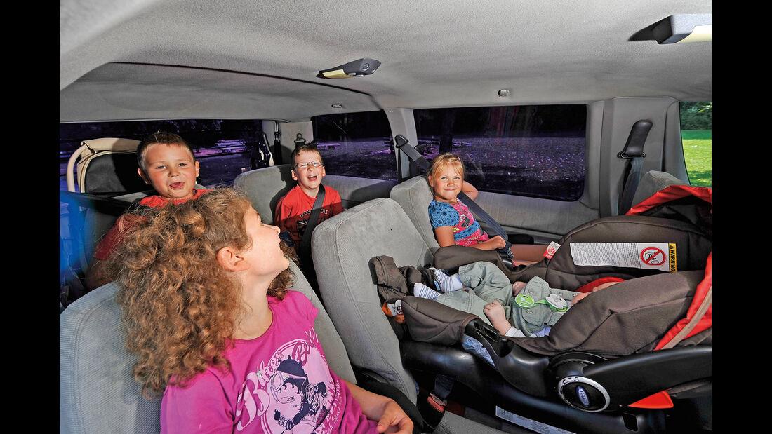 Pontiac Trans Sport, Sitze, Rücksitz