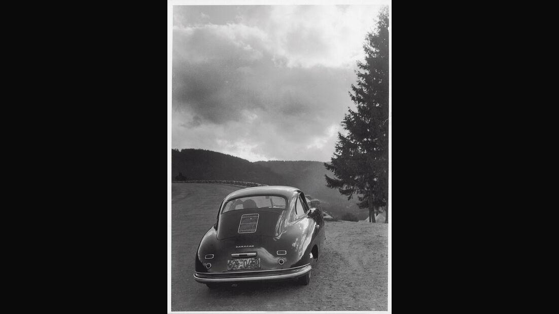 Porsche 1300, Rückansicht, Heck