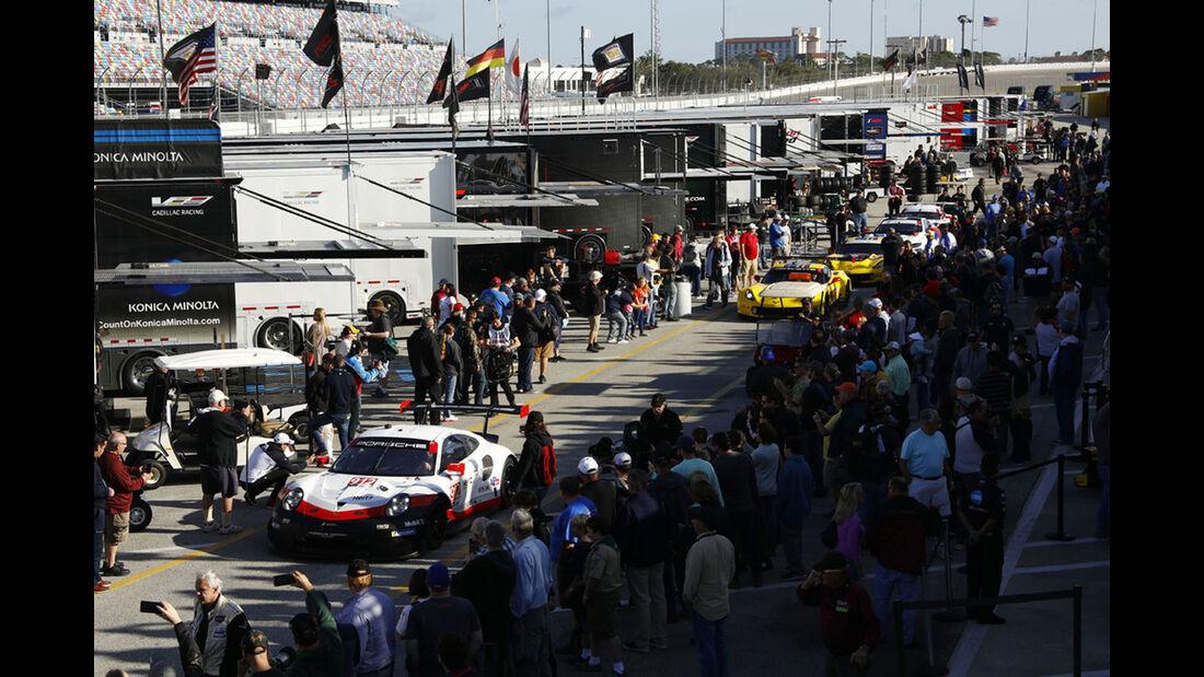 Porsche - 24h Daytona - Vortest