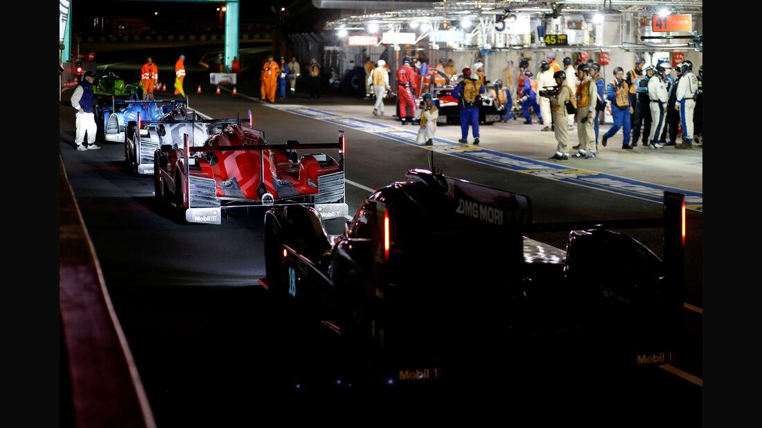 Porsche - 24h Rennen Le Mans - 1. Qualifying - Mittwoch 10.6.2015