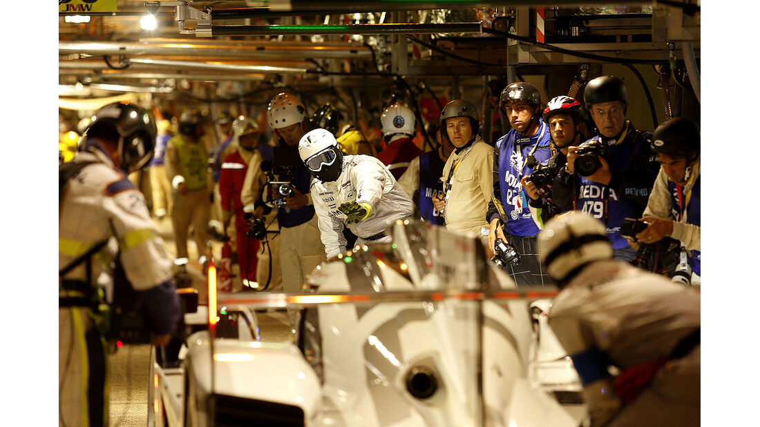 Porsche, 24h-Rennen, Le Mans 2014, Qualifikation 3, Bernhard, Webber, Hartley