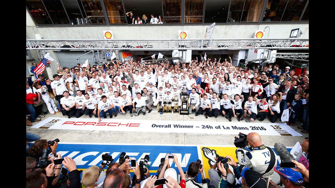 Porsche - 24h-Rennen Le Mans 2016