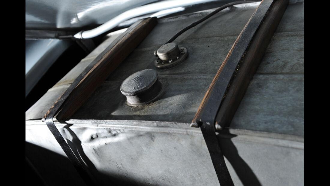 Porsche 356/2-004, Detail, Innenraum
