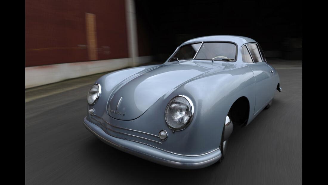Porsche 356/2-004, Frontansicht