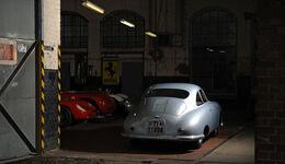 Porsche 356/2-004, RŸckansicht, Garage