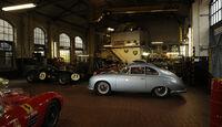 Porsche 356/2-004, Seitenansicht, Garage
