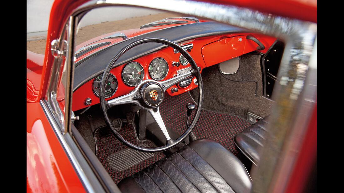 Porsche 356 C, Cockpit