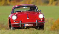 Porsche 356 C, Frontansicht