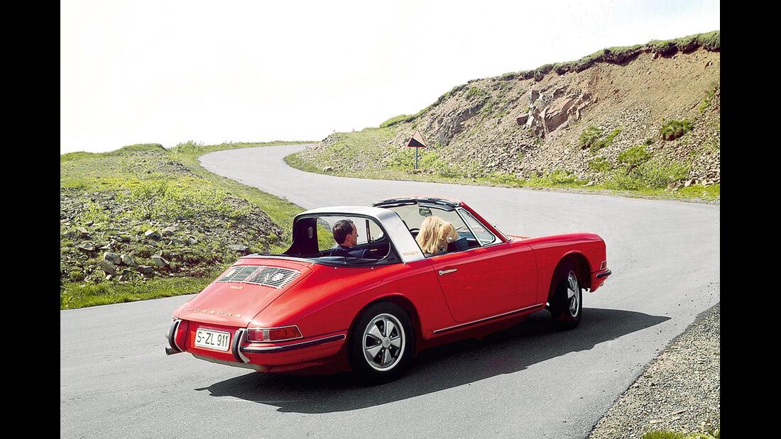 Porsche 356 C, Heckansicht