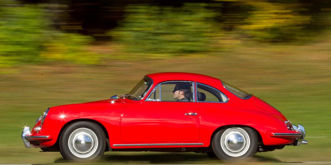 Porsche 356 C, Seitenansicht