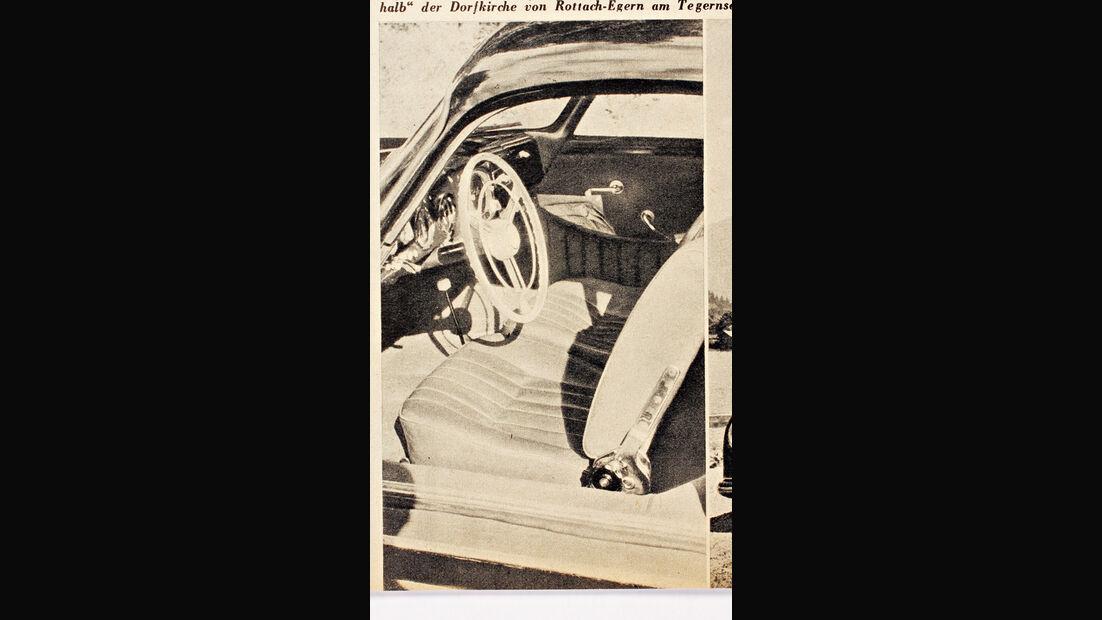 Porsche 356, Cockpit