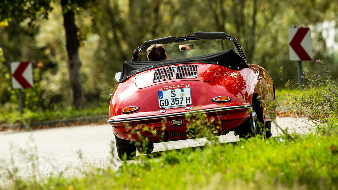 Porsche 356, Exterieur