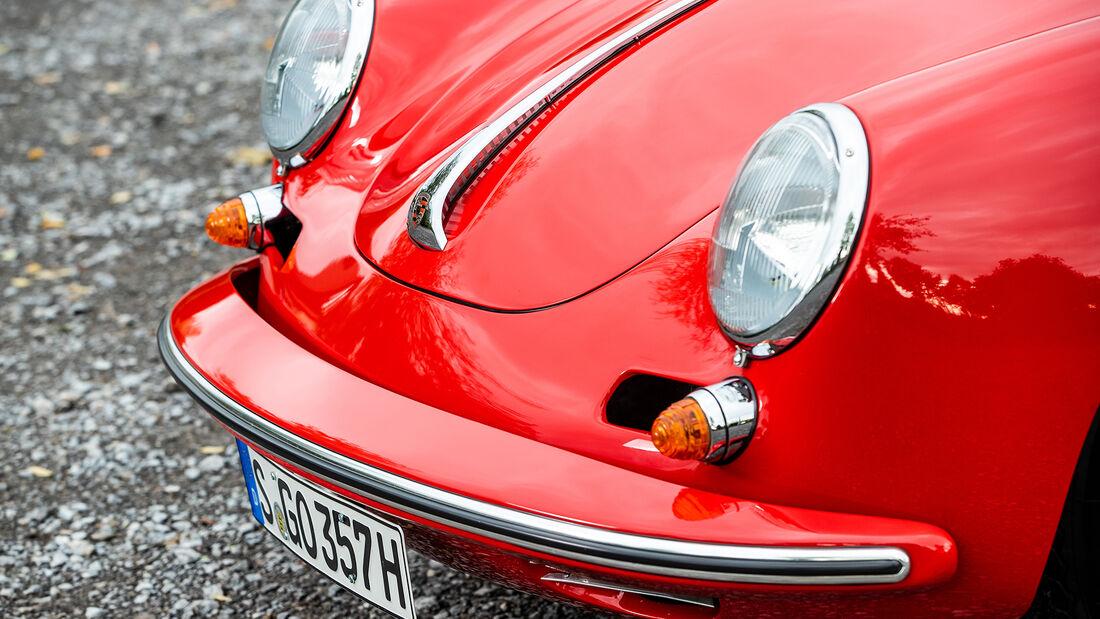 Porsche 356, Front
