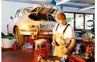 Porsche 356, Hebebühne