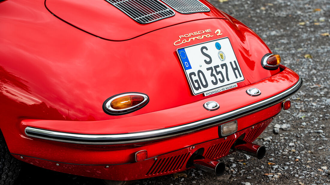 Porsche 356, Heck