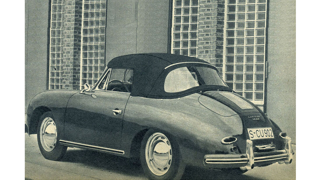 Porsche, 356, IAA 1957