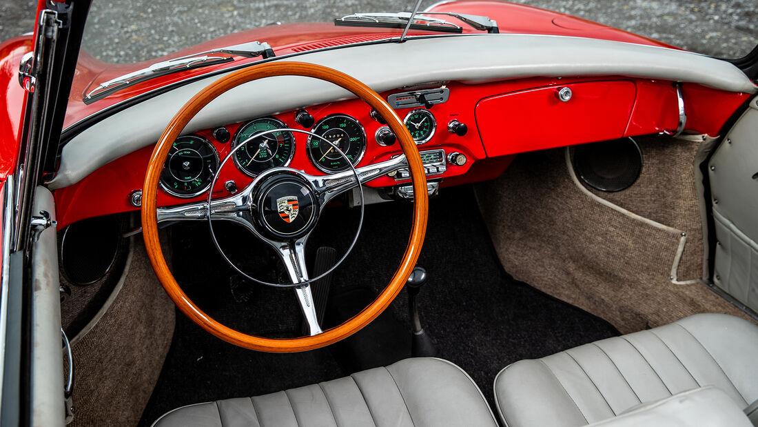 Porsche 356, Interieur