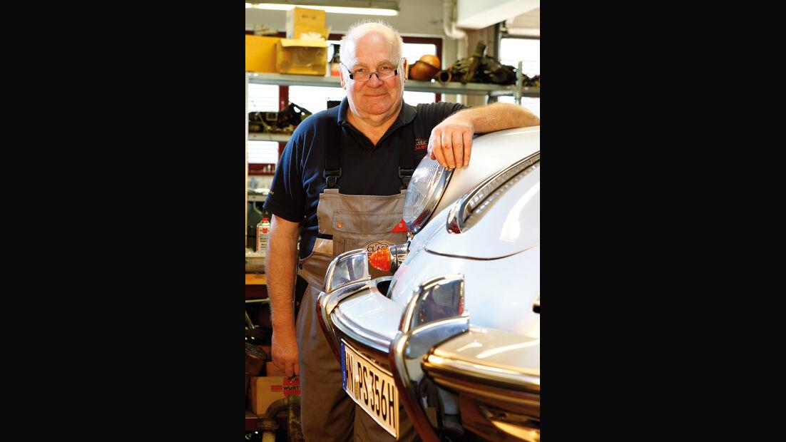 Porsche 356, Motorhaube, Wolfgang Reile