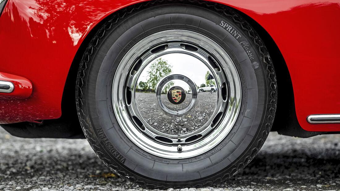 Porsche 356, Rad