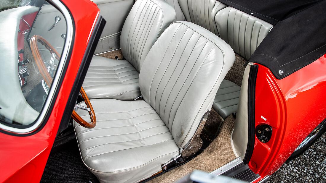 Porsche 356, Sitz