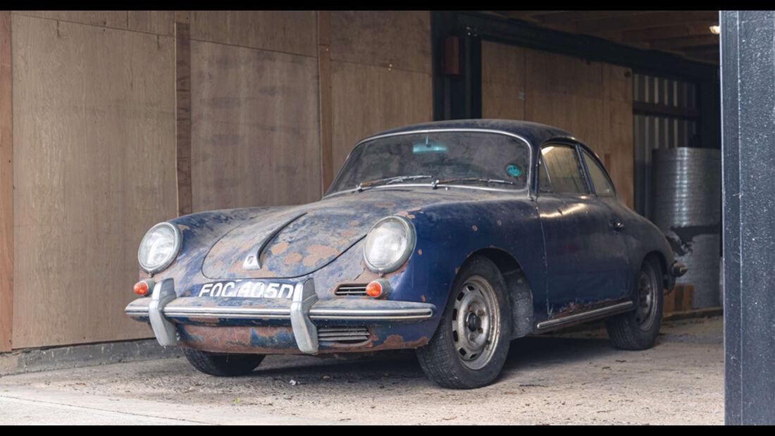 Porsche 356C 1600 Super Barn find (1965)