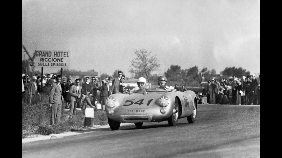 Porsche 550 Spyder, 1953, Rennen