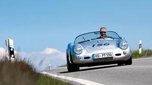 Porsche 550 Spyder, Frontansicht